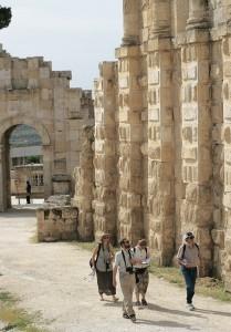 Jerash city walls (© Visit Jordan)