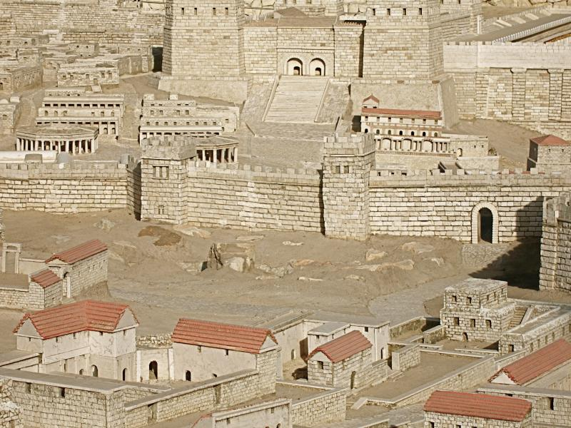 Model Of Ancient Jerusalem 171 See The Holy Land