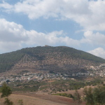 Mount Tabor with Franciscan monastery on top (Seetheholyland.net)