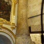 Seventh Station: Roman column at the western boundary of Jerusalem in Jesus' time (Seetheholyland.net)