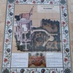 Plan of Church of Pater Noster and grounds (Seetheholyland.net)