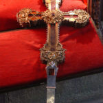 Reputedly the largest surviving piece of the True Cross, in Monastery of Saint Toribio De Liébana, Spain (Francisco J. Díez Martí / Wikipedia)