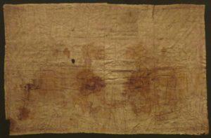 Sudarium of Oviedo (Reinhard Dietrich / Wikipedia)
