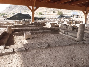 Synagogue uncovered at Magdala (Seetheholyland.net)