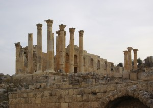 Temple of Zeus at Jerash (Berthold Werner / Wikimedia)